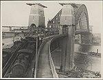 Trains on the Harbour Bridge, 1932 (8282708053).jpg