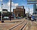 Tram Lines near East Croydon Station (geograph 3035177).jpg