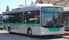 Transperth 2004 Volgren CR228L bodied Mercedes-Benz OC 500 LE CNG operating for Transdev.jpg