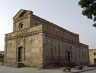 Judicate of Cagliari - Cathedral of S. Maria of Monserrat, Tratalias