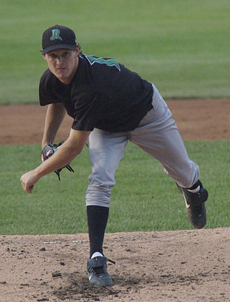 Travis Wood - Wood pitching for the Dayton Dragons in 2006
