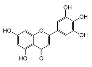 Tricetin - Image: Tricetin