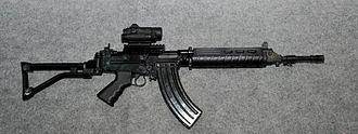 INSAS rifle - Trichy assault rifle prototype