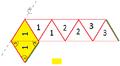 Trihexaflexagon 1. Schritt beim Falten.png