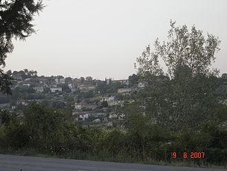 Trilofos, Pieria - View of Trilofos