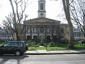 Newington, London - Image: Trinity church square southwark london