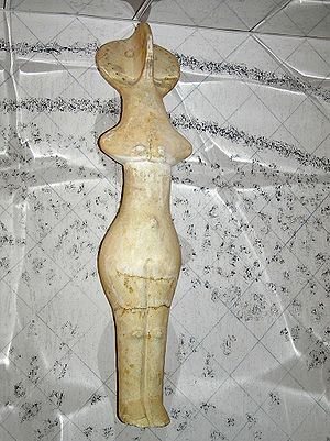 A neolithic Cucuteni–Trypillian Mother Goddess...