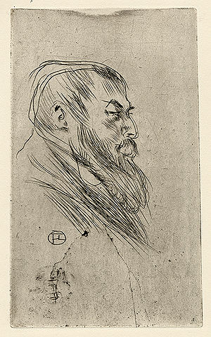 Tristan Bernard - Tristan Bernard, drawn by Toulouse-Lautrec