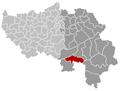 Trois-Ponts Liège Belgium Map.png
