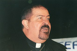 Troy Perry - Perry in 1997, speaking at the Walk Without Fear march in support of LGBT rights