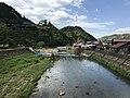 Tsuwanogawa River from Miyukibashi Bridge.jpg