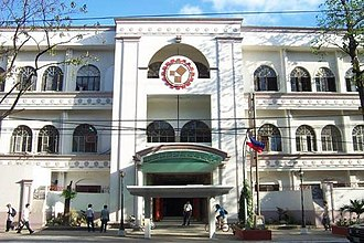 Technological University of the Philippines - The facade of the University