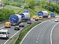 Turbine Convoy enroute to Scout Moor on M66 - geograph.org.uk - 878967.jpg