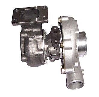 Turbo-diesel - A diesel engine turbocharger