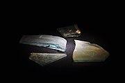 Turicum - Thermengasse - Reste von Fensterglas 2010-06-20 19-26-58.JPG