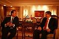 Turkish Foreign Minister Ahmet Davutoglu & Greek Foreign Minister Dimitris Droutsas 4.jpg