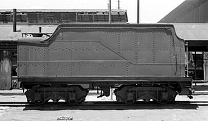 South African type TL tender - Image: Type TL modified tender off Class 3