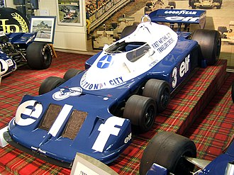 Japanese Grand Prix - Ronnie Peterson's Tyrrell P34 (1976)