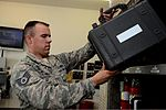 U.S. Air Force Staff Sgt. Jeffrey Brant, a composite tool crib custodian with the 52nd Aircraft Maintenance Squadron, returns tools to shelves at Spangdahlem Air Base, Germany, Aug. 13, 2013 130813-F-OP138-085.jpg