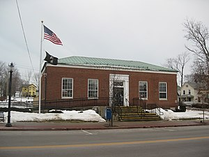 Evans, New York - U.S. Post Office, Angola, NY