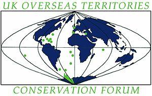 UK Overseas Territories Conservation Forum - Image: UKOTCF Logo