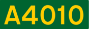 A4010 road shield