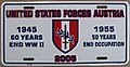 US-Forces-in-Austria USFA license plate 2005 commemorative.jpg