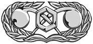 USAF civil engineer readiness occupational badge