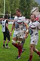 USO - RCT - 28-09-2013 - Stade Mathon - John Philip Botha et Benjamin Noirot.jpg
