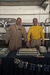 USS Carl Vinson CO, EO celebrate birthdays 141101-N-UW005-057.jpg