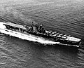 USS Enterprise (CV-6) at sea in October 1945.jpg