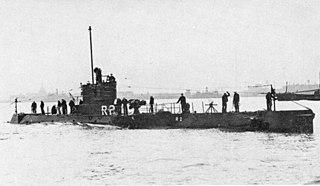 USS <i>R-2</i> (SS-79) 1918 R-class coastal and harbor defense submarine of the US Navy
