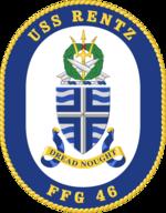 USS Rentz crest