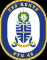 USS Rentz FFG-46 Crest.png