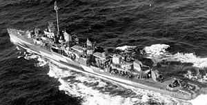 USS Rowe (DD-564) - Rowe seen here in 1944.