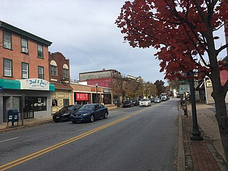 Downingtown, Pennsylvania - Lancaster Avenue in Downingtown