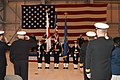 US Navy 030516-N-9760B-002 Naval Air Facility Misawa's Honor Guard is saluted.jpg