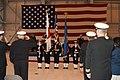 US Navy 030516-N-9760B-002 Naval Air Facility Misawa's Honor Guard is saluted.jpg