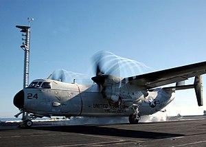VRC-30 - A C-2 Greyhound from VRC-30, Detachment Four