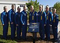 US Navy 060522-N-5390M-002 Members of the U.S. Navy's flight demonstration team, the Blue Angels, attend a dedication ceremony at Navy-Marine Corps Memorial Stadium in Annapolis.jpg