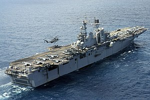 Wasp-class amphibious assault ship