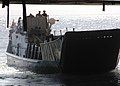 US Navy 070423-N-1786N-057 Landing Craft Unit 1617 maneuvers its way into the well deck of the amphibious assault ship USS Tarawa (LHA 1) during training exercises off the coast of California.jpg
