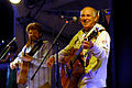 US Navy 080128-N-3235P-221 Recording artists Jimmy Buffett, right, and Mac Macnally, a member of the.jpg