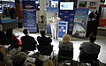 US Navy 090505-N-7676W-051 Capt. Paul Essig, Assistant Chief of Naval Research, addresses more than 70 members of industry, academia, and the media about the Office of Naval Research.jpg
