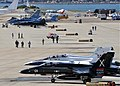 US Navy 100211-N-2344B-004 Hundreds of current and historic Navy aircraft are on display at the Naval Air Station North Island flight line to parti.jpg