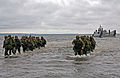US Navy 100615-M-0884D-033 Estonian soldiers wade ashore during a combined U.S. and Estonia amphibious assault training exercise during Baltic Operations (BALTOPS) 2010.jpg