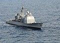 US Navy 101019-N-6632S-087 The guided-missile cruiser USS Gettysburg (CG 64) is underway conducting training operations in the Atlantic Ocean as pa.jpg