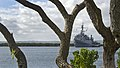 US Navy 110727-N-RI884-141 USS Cleveland (LPD 7) departs Joint Base Pearl Harbor-Hickam on its final deployment.jpg
