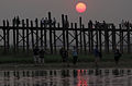 U Bein Bridge Evening.JPG