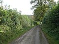 Unclassified road to Llampeter Velfrey - geograph.org.uk - 1002222.jpg